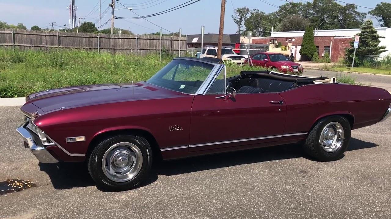 All Chevy 1968 chevrolet chevelle : 1968 Chevrolet Chevelle Malibu Convertible For Sale - YouTube