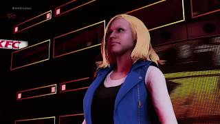 WWE 2K18 Wonder Woman vs Android 18