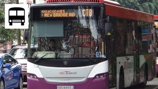 Scania K230UB Euro IV (Batch 2)  - SBS Transit Chinatown Direct Bus CT8