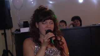 Мама поёт на свадьбе сына. 1.11.2013.
