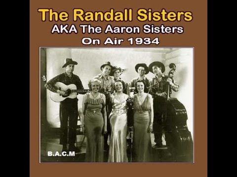 The Randall Sisters - Radio Transcriptions Part 2 (c.1934).