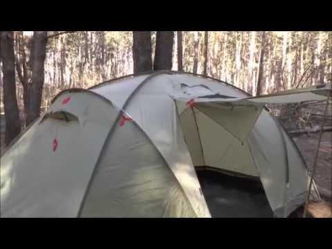 Хорошая кемпинговая палатка Pinguin Base Camp