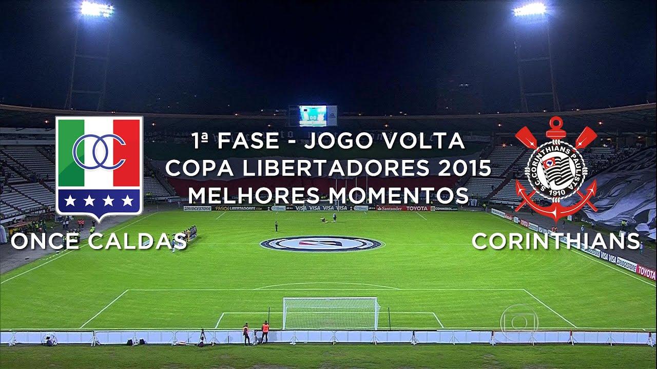 Deportiva Once Caldas 1 - 1 Corinthians Paulista (SP)