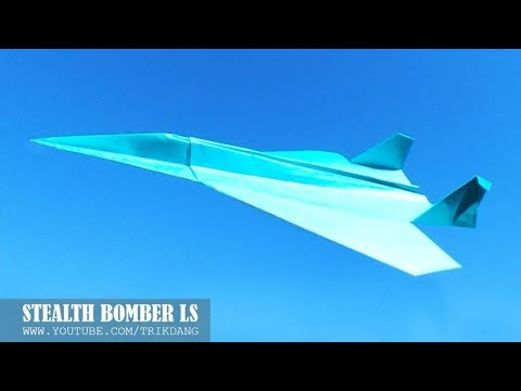 BEST PAPER AIRPLANE - How to make a Paper Airplane that Flies | Pak Da LS