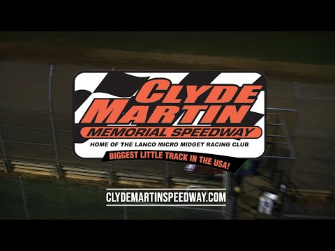 Clyde Martin Memorial Speedway May 11 Ad