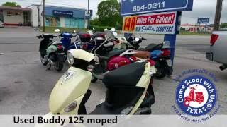 Used Genuine buddy Scooter 125cc moped for sale