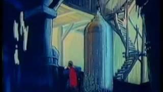 Superman - Erdbeben-Elektro-DC Cartoon