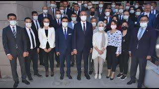 Adalet Bakanı Abdülhamit Gül'ün Boyabat ziyareti
