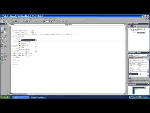 Visual Basic 6.0 Load combobox from database