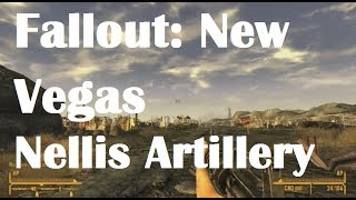 Fallout: New Vegas Nellis Artillery Timing Details (Still in the Dark)