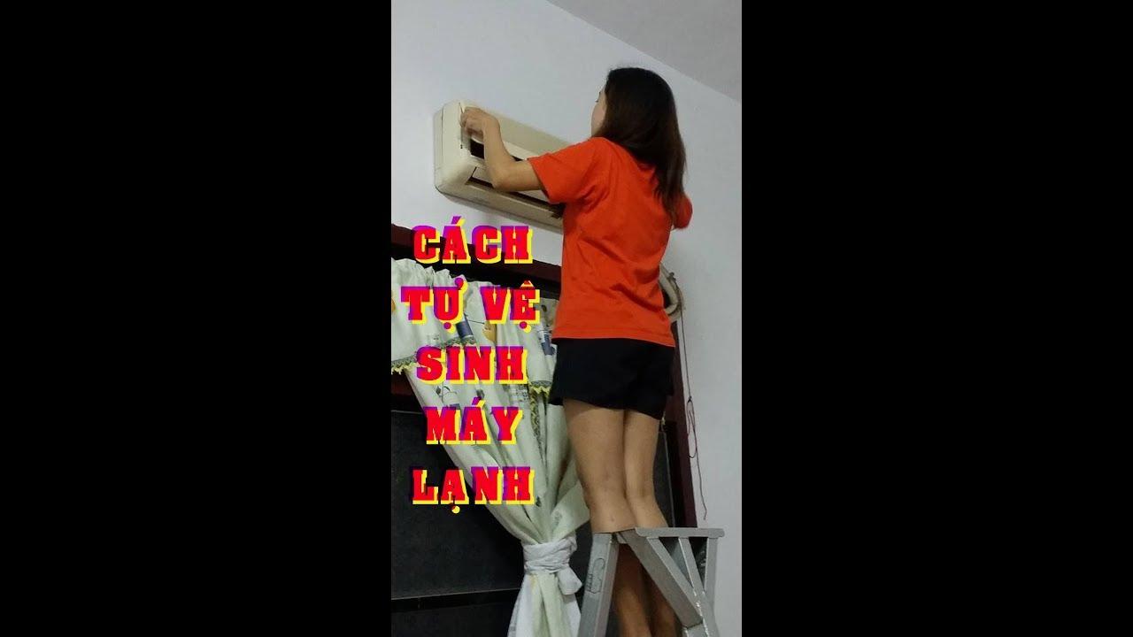 Hướng dẫn tự vệ sinh máy lạnh - KỸ THUẬT HT