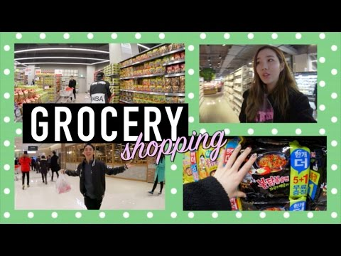 Grocery Shopping at the New Lotte Mart! | JOANDAY #34