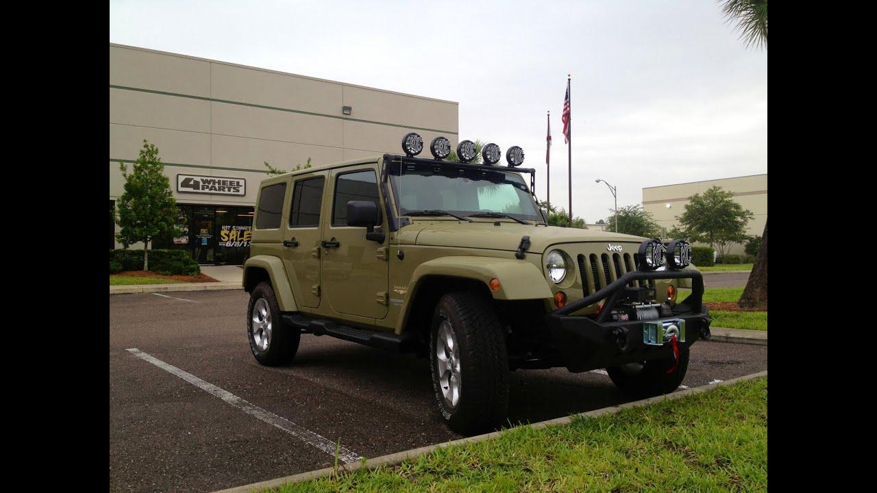 Jeep jk wrangler parts jacksonville fl 4 wheel parts youtube mozeypictures Images