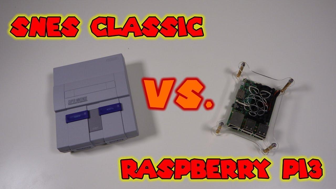 raspberry pi 3 snes emulator performance