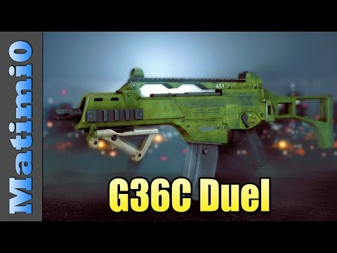 G36C Duel - Stair Camping Lvlcap - Battlefield 4 (Double Vision)
