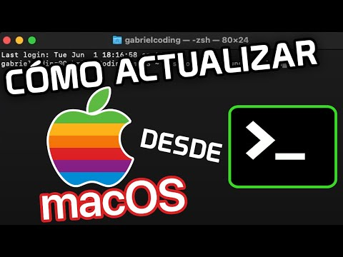▷ Como ACTUALIZAR Mac OS DESDE la Terminal de Comandos 💻