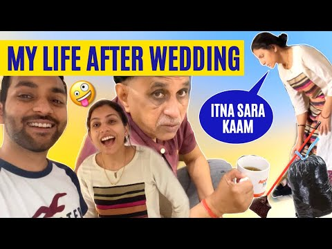 MY LIFE AFTER WEDDING - VLOG | She Cooked Lunch, Shopping & Fight | A Day In My Life | ANKIT TV