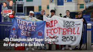 Debatte um Super League und Formel-1-Crash mit Bottas | Pro und Konter | Blick Podcast