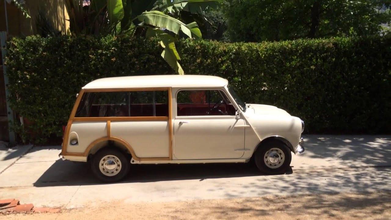654586a877 1963 Austin Mini Countryman for sale - YouTube