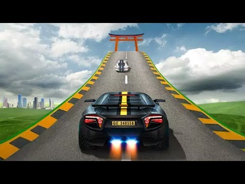 Impossible Car Stunt Racing Tracks 3d Car Games To Play Racing Car
