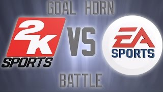 Goal Horn Battle NHL17 Vs. 2k11