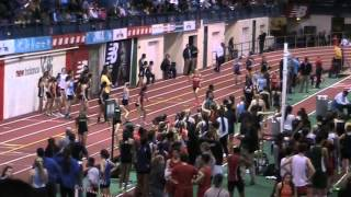 2014 NJ Bergen County Relays Armory Girls 4x800 Northern Highlands