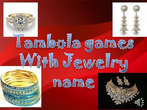 2018 incredible tambola games or housie with jewelry for karwa chauth kitty party(win tambola)