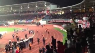 Antalyaspor - Karabükspor maçında çıkan... - 07 Gençlik Keyf-i Alem