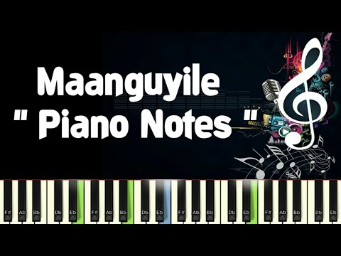 Maanguyile (ilayaraja) Karagattakaran, Piano Notes, Midi File, Music Sheet & Karaoke