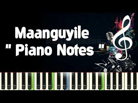 Maanguyile ilayaraja Karagattakaran Piano Notes Midi File  Sheet & Karaoke