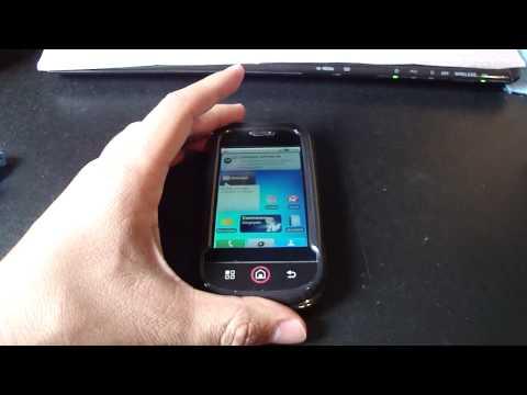 Motorola Dext con protector de plastico duro
