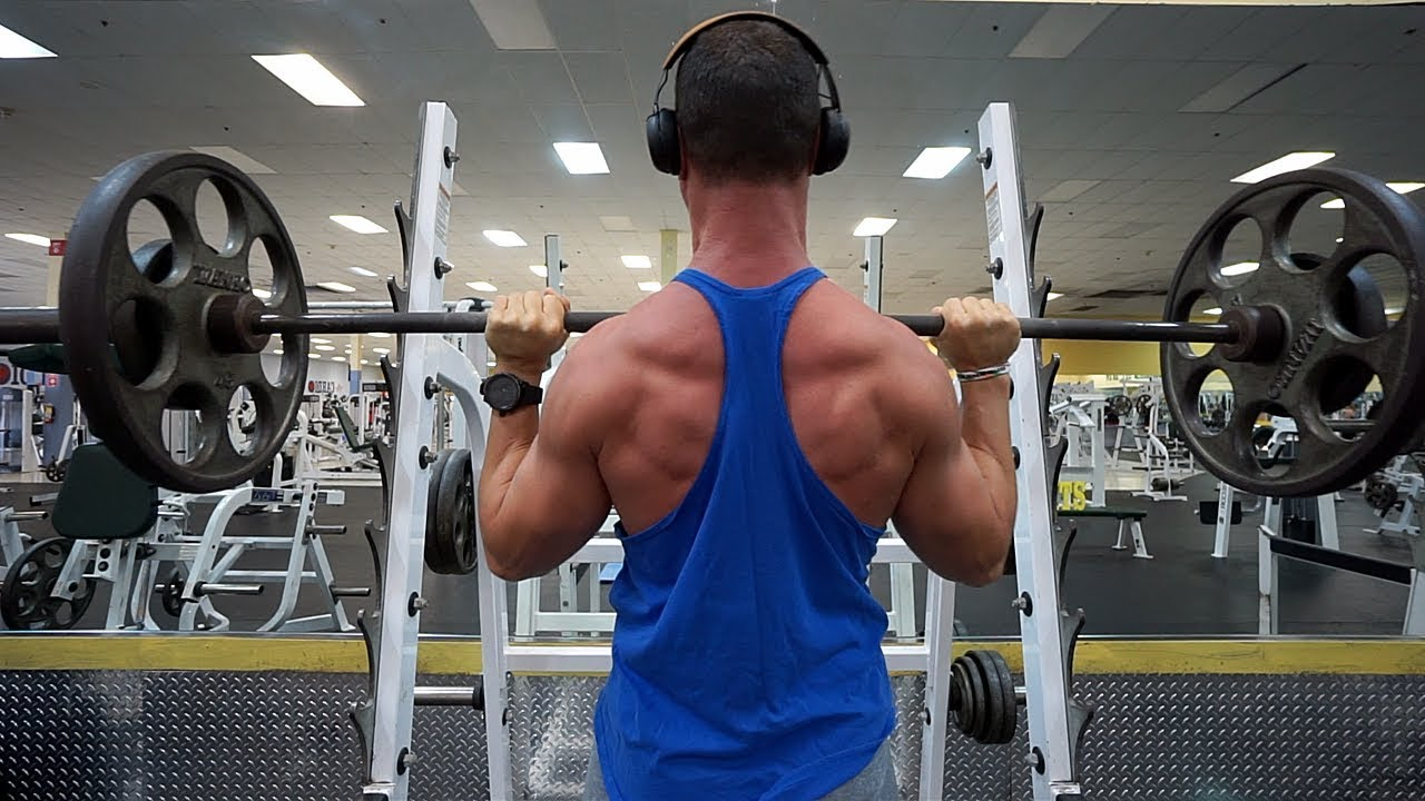 Muscle Building Workout Chest Back Shoulder Arms With Voiceover