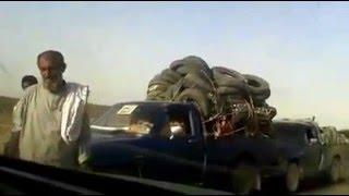 toyota stout 2200 YK110 & hilux convoy traffic