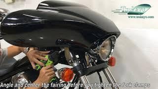 Choppa Fairing installation for Honda Fury