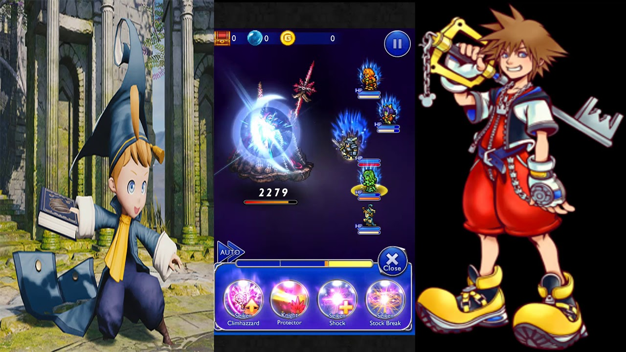 Final Fantasy Record Keeper apk android, pc et ios
