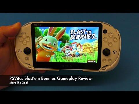 PSVita: Blast'em Bunnies Gameplay