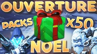OVERWATCH FR | OUVERTURE 50 PACKS NOËL ( PS4 Pro )