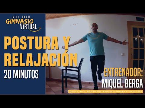 Ejercicios para mejorar la postura y la relajación - 20 minutos - con Miquel Berga