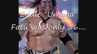 Umaga Dead at 36.......
