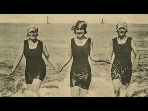 Film de la plage de Dieppe dans les années 1900