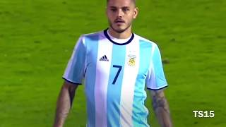 Mauro Icardi VS Uruguay | Individual Highlights | HD
