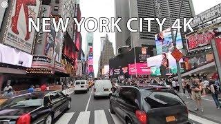 Driving Downtown VR 360 - New York City 4K - USA