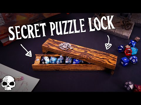 Dungeons and Dragons Puzzle Box - The ULTIMATE Dice Vault!
