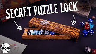 How to make a Dice Box (with Secret Puzzle Lock!)