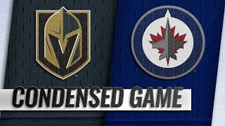 01/15/19 Condensed Game: Golden Knights @ Jets