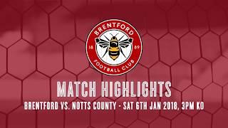 2017/18 HIGHLIGHTS: Brentford 0-1 Notts County
