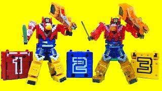 figcaption 파워레인저 애니멀포스 DX애니멀킹 미니프라 스폐셜 큐브 이글 샤크 라이온 장난감 Power rangers Doubutsu Sentai Zyuohger Toys