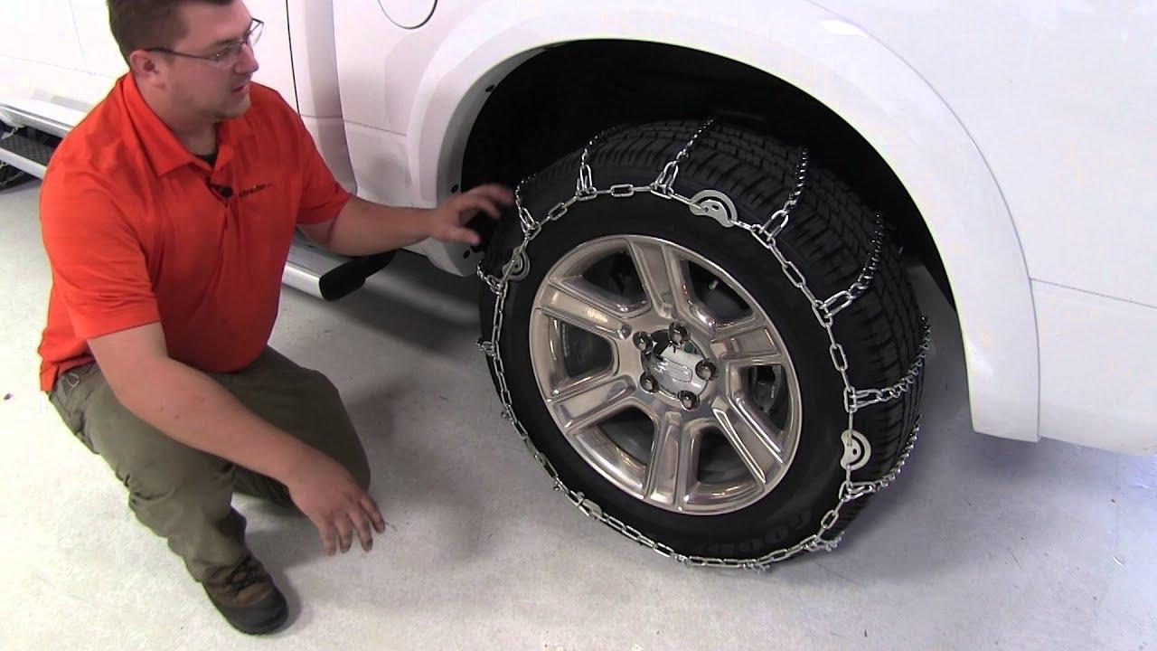 2015 Ram 2500 >> Best 2015 Ram 1500 Tire Chain Options - etrailer.com - YouTube