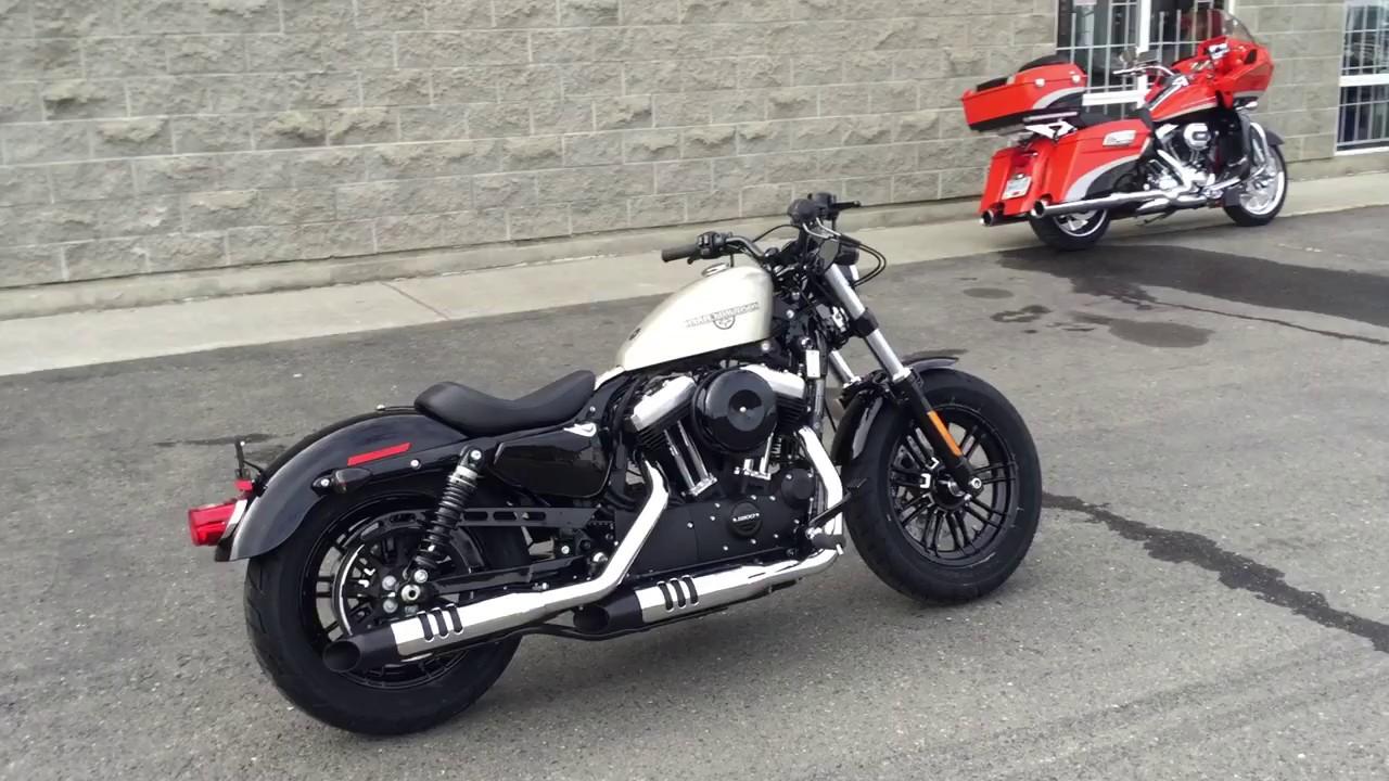 2018 Harley-Davidson XL1200X Forty-Eight - YouTube