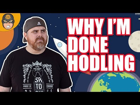 Why I'm Done Hodling Bitcoin & Cryptocurrency | New Paradigm Shift In Crypto